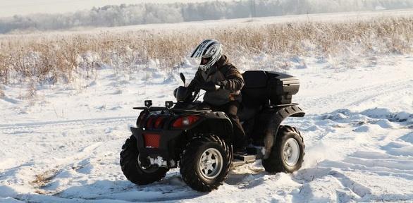 Катание наквадроцикле или кроссовом мотоцикле откомпании Pro-kvad