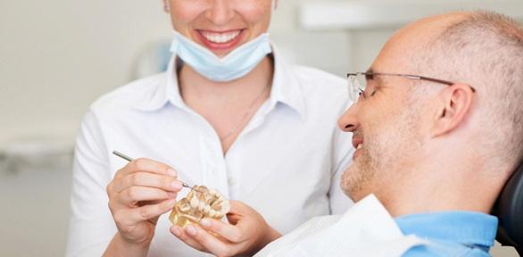 Протезирование зубов вкабинете «Идеал»