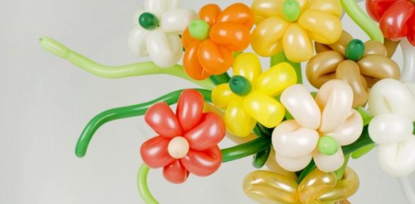 Букет извоздушных шаров