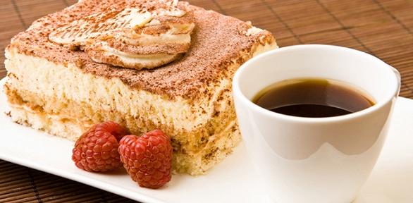 Десерт инапиток всети кофеен «Шоколадница» заполцены