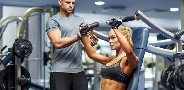 Персональная тренировка, посещение тренажерного зала вклубе Re_Форма