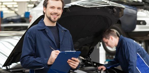 Диагностика двигателя или замена технических жидкостей вавтосервисе Fair