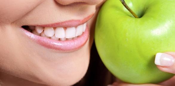 Комплексная чистка зубов или лечение кариеса вклинике «Зеленое яблоко»