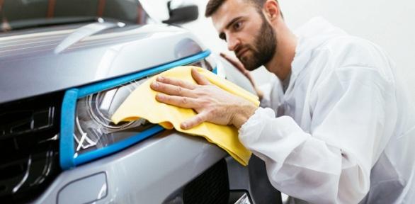 Химчистка или полировка автомобиля втехцентре Time for Drive
