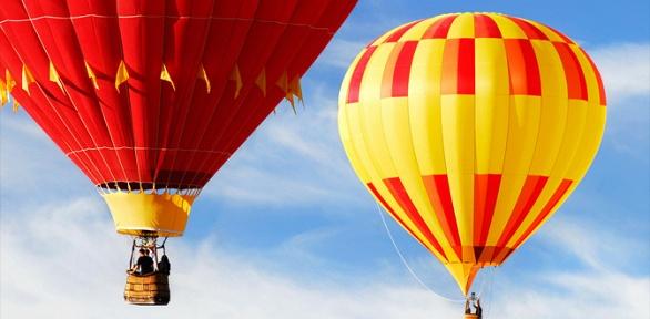 Полет навоздушном шаре отклуба «Воздухоплаватели»
