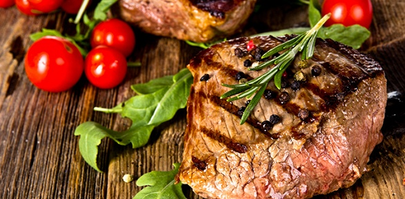 Набор блюд отресторана доставки кавказской кухни «Лю-Ля» заполцены
