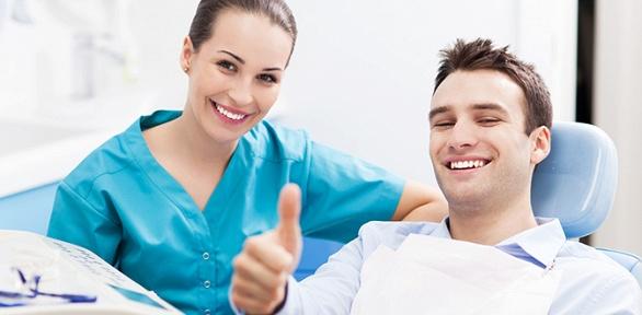 Лечение кариеса или УЗ-чистка зубов вклинике «С.О.Ч.И.»