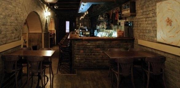 Меню инапитки вресторане-клубе Duma Bar &Kitchen заполцены