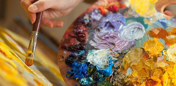 Посещение мастер-класса порисованию вхудожественной студии «Август-Арт»