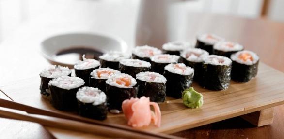 Суши-сеты отресторана доставки OishiSushi за полцены