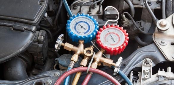 Диагностика изаправка автокондиционера отавтосервиса Rozov Auto