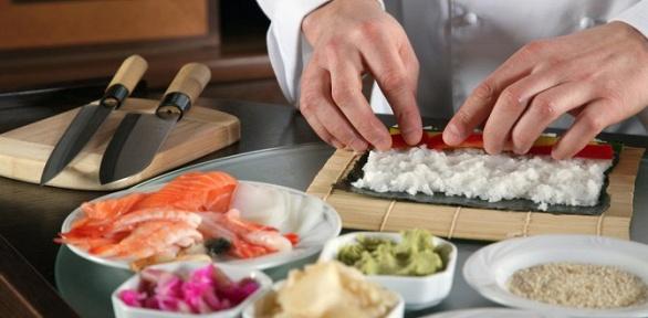 Посещение мастер-класса вшколе суши-мастерства «Суши повар»