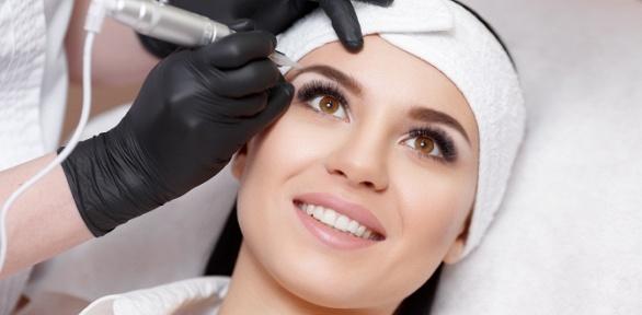 Перманентный макияж зоны навыбор встудии эстетики лица итела Magic White