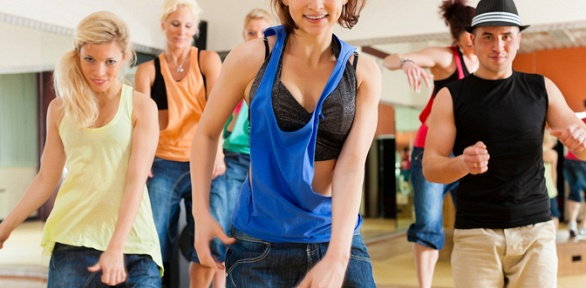 Занятия танцами встудии танца Inside