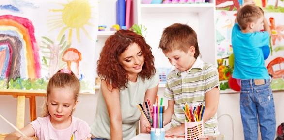 Посещение частного детского сада «Пузики»