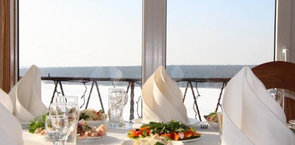 Романтический или деловой ужин для 2или 4человек вресторане «Донжон»