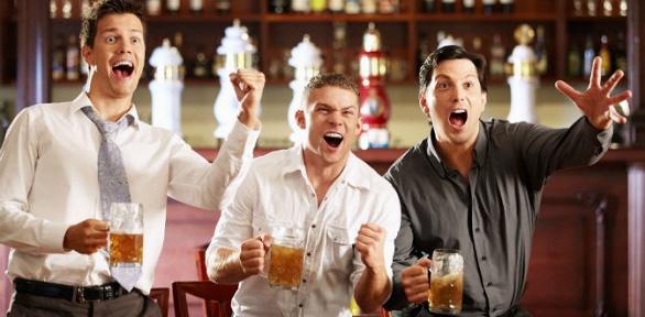 Пивная вечеринка сзакусками впабе Trinity Irish Pub