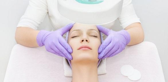 УЗ-чистка, лазерно-карбоновый пилинг, микротоковая терапия всалоне Podium