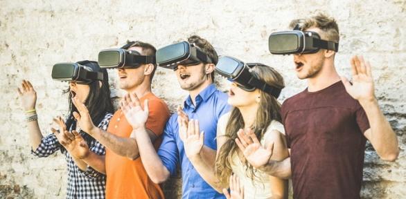 Посещение аттракционов откомпании «Виртуальная реальность Vive Pro»