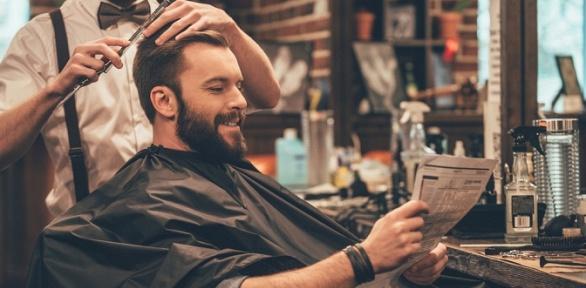Мужская стрижка, оформление бороды, усов всалоне «МарафетЪ»