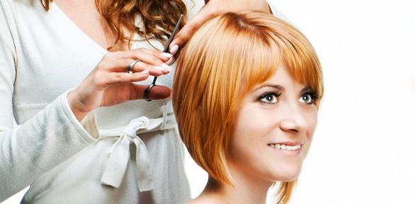 Стрижка, окрашивание или восстановление волос всалоне красоты «Стиль»