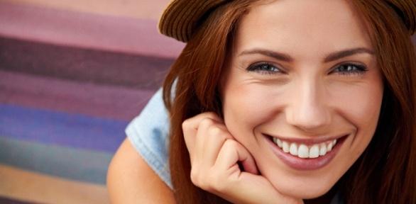 Глубокое или экспресс-отбеливание зубов всалоне красоты Triangle