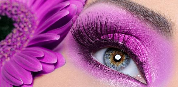 Процедуры поуходу забровями, ресницами, макияж встудии красоты «Бархат»