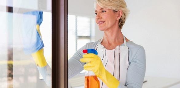 Мытье окон илоджий, химчистка мягкой мебели отхимчистки ECOHouse