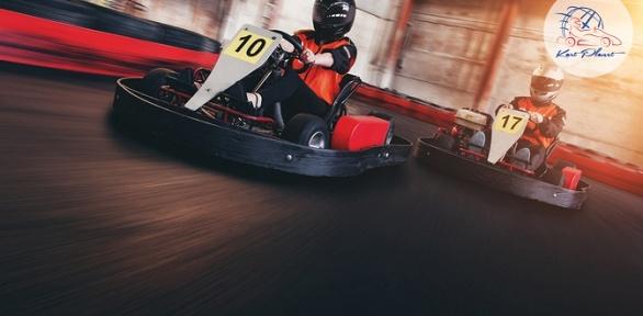 Заезды накарте для взрослого или ребенка вкартинг-клубе Kart Planet