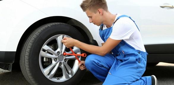 Шиномонтаж или хранение комплекта колес вавтосервисе Garage Team