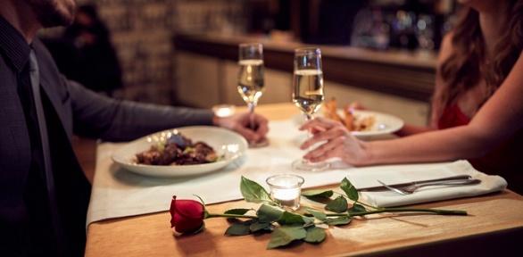 Ужин для двоих вресторане русской иевропейской кухни «Вгости»