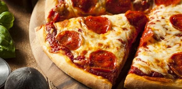 Пицца откафе «Вкуснофф» заполцены