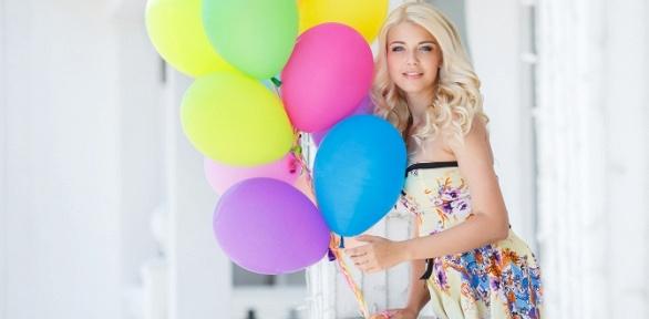 Композиция извоздушных шаров или свадебное оформление шарами