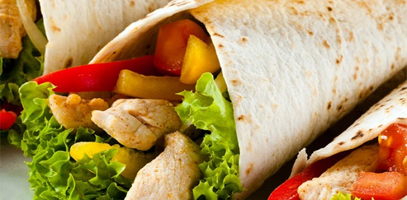Комбонабор скебабом, картошкой фри инапитком вкафе Mr. Kebab