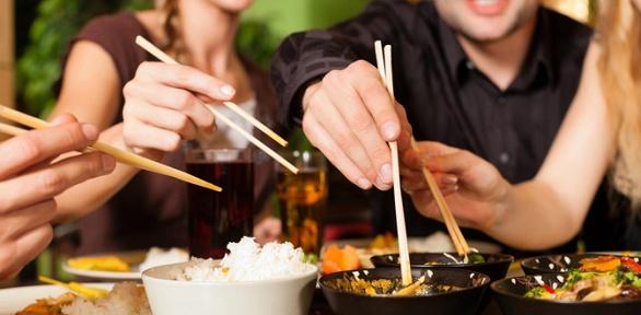 Ужин или обед вкафе китайской кухни «Карефана»