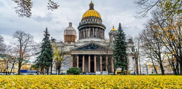 Тур вСанкт-Петербург всентябре иоктябре