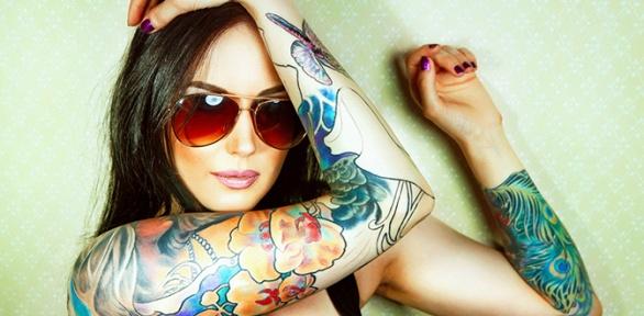 Нанесение художественной татуировки или удаление тату всалоне «Про тату»