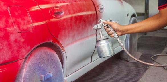 Покраска кузова автомобиля вцентре кузовного ремонта «АЛ-Авто»