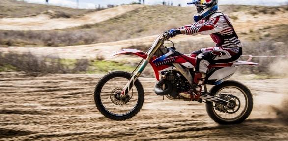 Катание накроссовом мотоцикле или питбайке отклуба Kvadro-Extrim