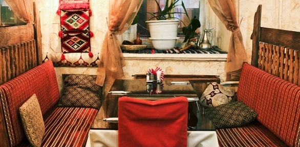 Блюда инапитки вкафе «Бейрут» заполцены
