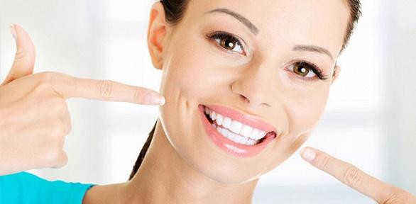 Глубокое или экспресс-отбеливание зубов встудии загара «Ежевика»