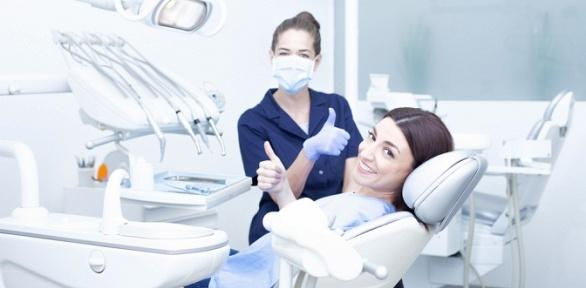 Гигиена полости рта, установка одной пломбы, отбеливание вклинике Dental7