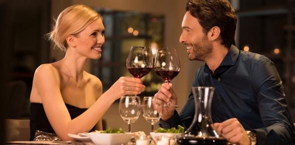 Обед или ужин вресторане Wine and Fish