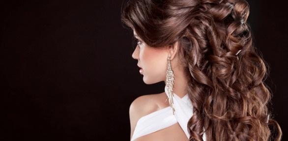 Стрижка, окрашивание или укладка волос впарикмахерской «Для всей семьи»