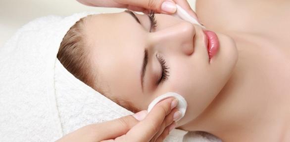 Чистка лица, массаж, пилинг всалоне «Источник здоровья»