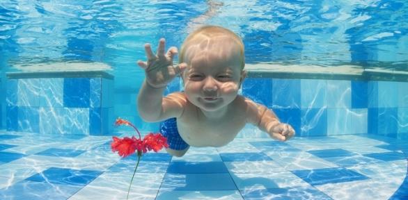 Занятия аквааэробикой или плаванием всемейном центре «Растем вместе»
