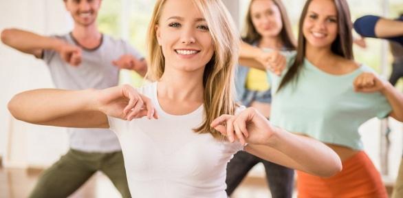 Занятия танцами для взрослых идетей втанцевальной студии Klukva