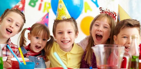 Проведение детского дня рождения вклубе «Счастливая мама»