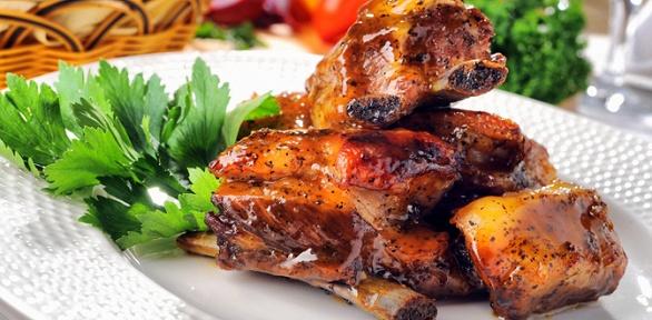 Блюда вресторане «Рулька» заполцены