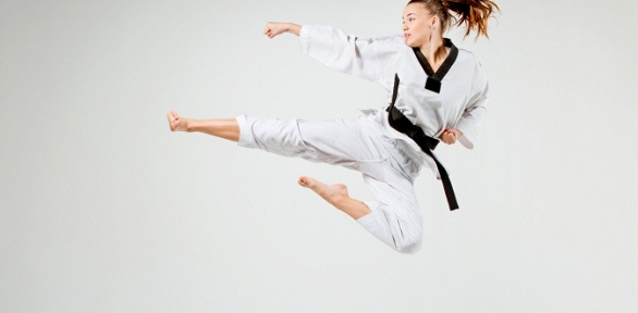Занятия тхэквондо, танцами, акробатикой игимнастикой вспортклубе «Уфимец»